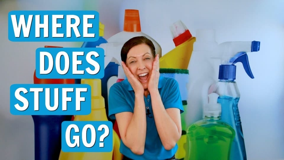 Ask a House Cleaner, Where Does Stuff Go, Savvy Cleaner