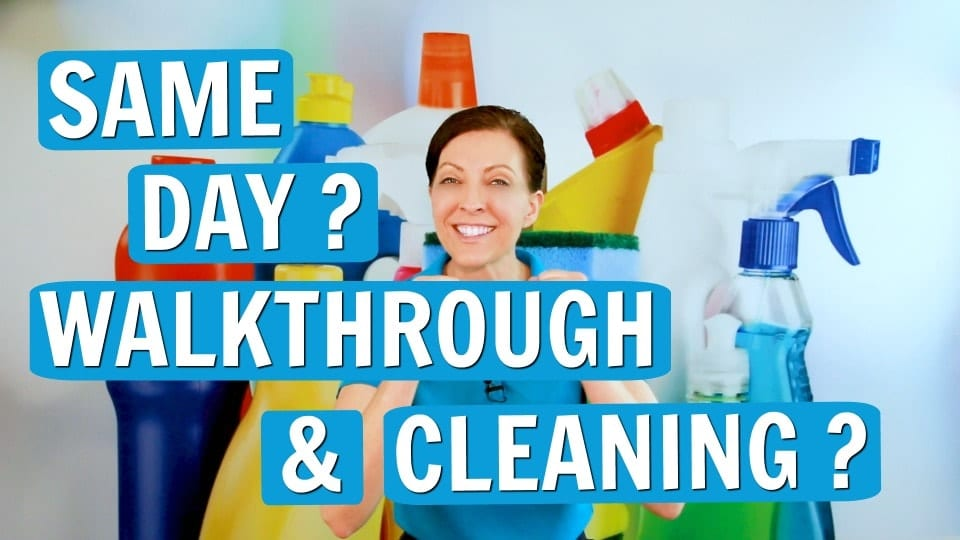 Ask a House Cleaner, Same Day Walkthrough, Savvy Cleaner