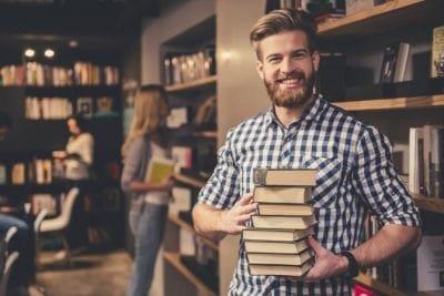 Challenges of Hiring Staff, Man With Books