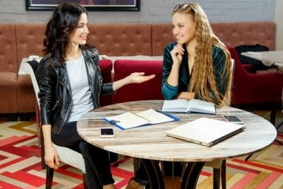 Challenges of Hiring Staff, Women Having Lunch Meeting