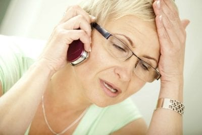 Constructive Criticism, Frustrated Woman on Phone