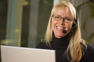 Constructive Criticism, Happy Customer Service Rep