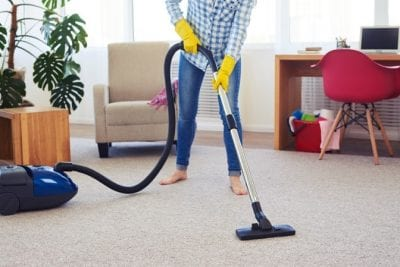 How Long Does it Take, House Cleaner Vacuuming
