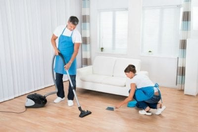 Over-Delivering, Cleaning Crew
