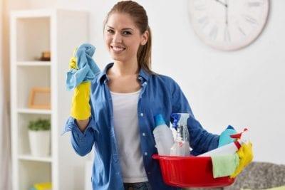 Over-Delivering, House Cleaner