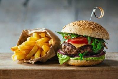Savvy Perks, Burger and Fries