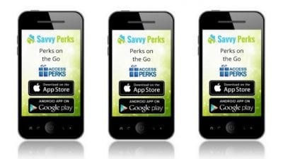 Savvy Perks Phone App Apple and Android