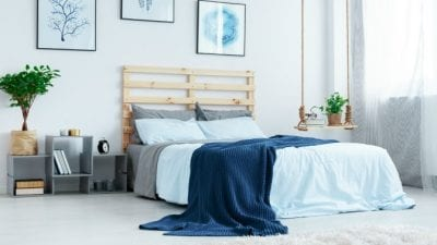 Suspend House Cleaning Service clean guest bedroom