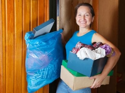 Two-Hour Minimum, Woman Taking Out Garbage
