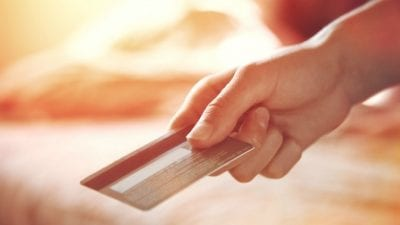 Who Collects the Money Hand offers credit card
