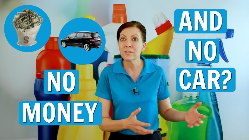 Ask A House Cleaner, No Money, No Car, Savvy Cleaner