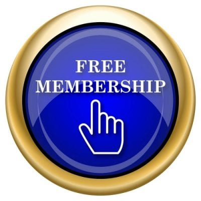 Free Membership Button in Bluex 500
