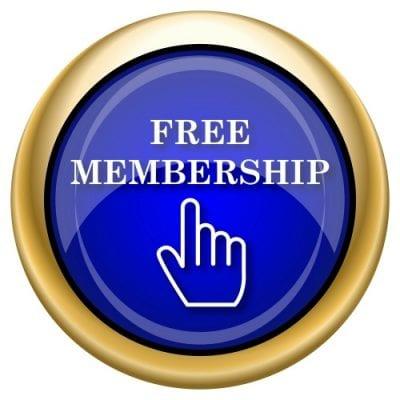 Free Membership Button in Bluex 500