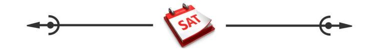 Saturday Calendar Spacer, Savvy Cleaner