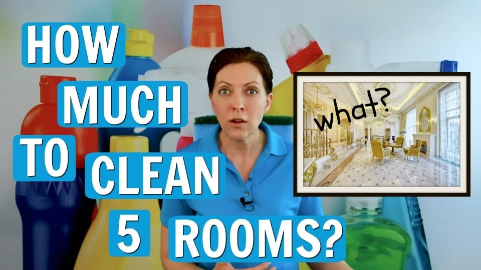 Ask A House Cleaner, How Much to Clean Five Rooms, Savvy Cleaner