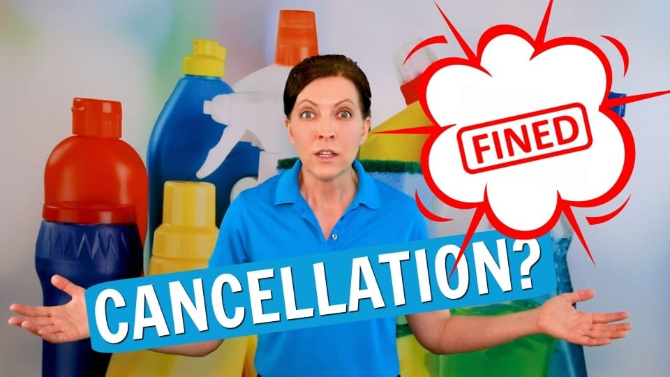Ask A House Cleaner, Cancellation Charge, Savvy Cleaner