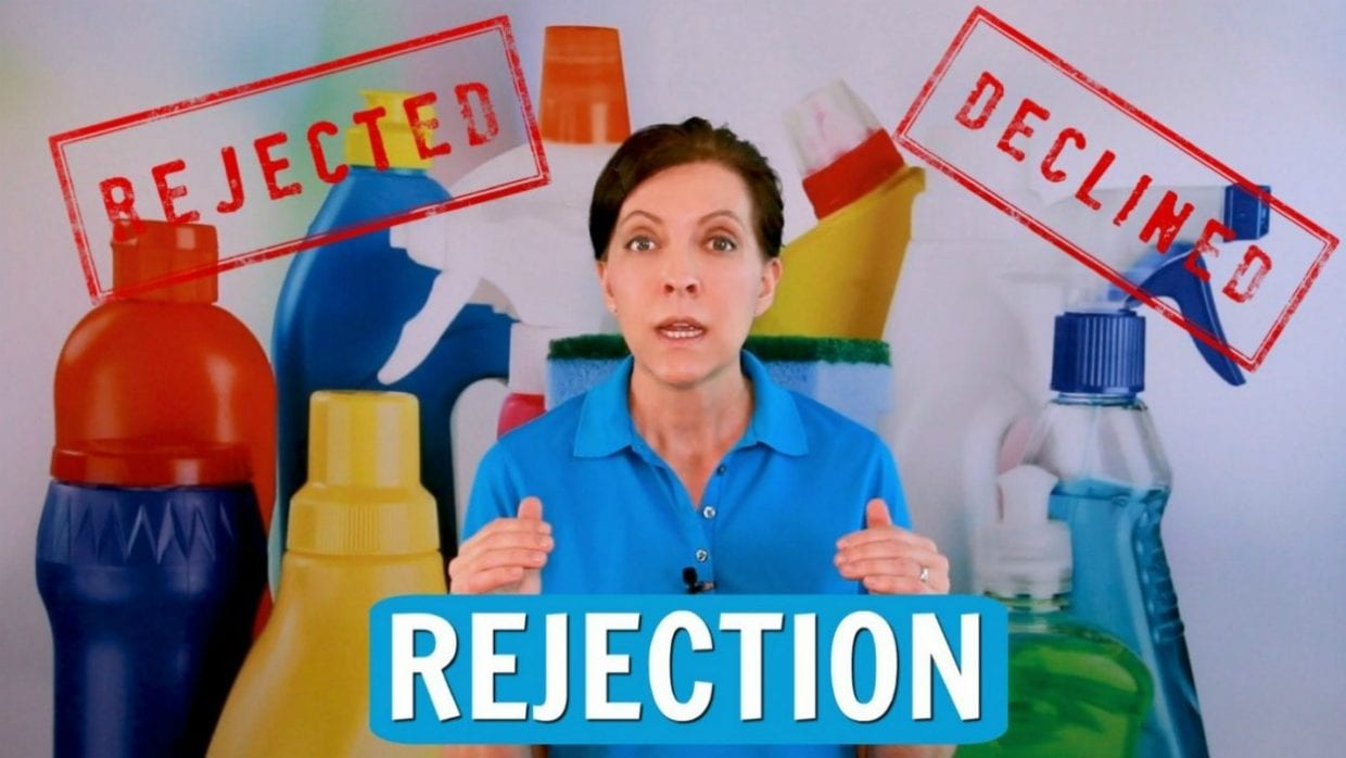 Ask a House Cleaner, Fear of Rejection, Savvy Cleaner
