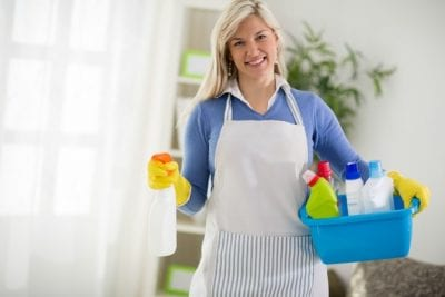 Airbnb Guests Clean Up, House Cleaner