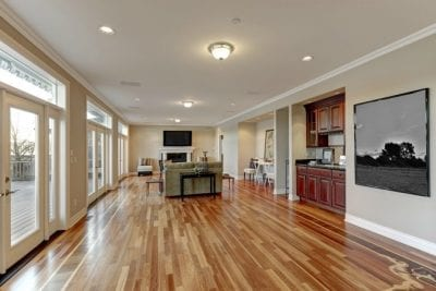 Hardwood Floor Secrets, Open Concept Kitchen With Wood Floor