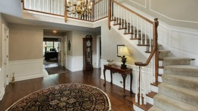 How Much to Clean 5 Rooms foyer and stairs in house