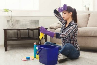 The Fear of Rejection, Frustrated House Cleaner