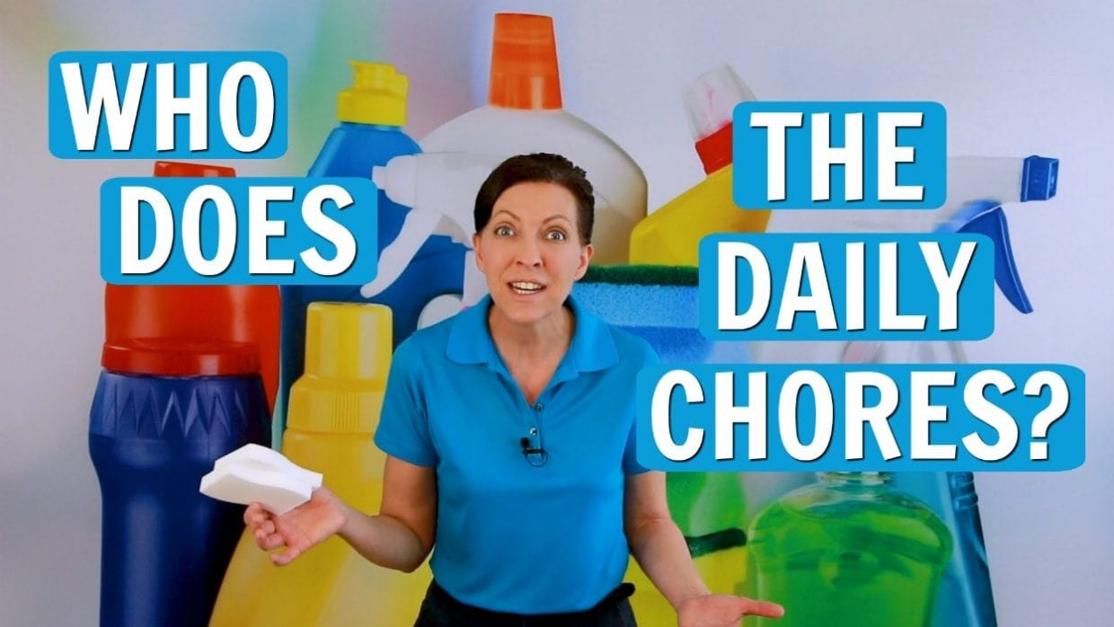Ask a House Cleaner, Who Does the Daily Chores, Savvy Cleaner