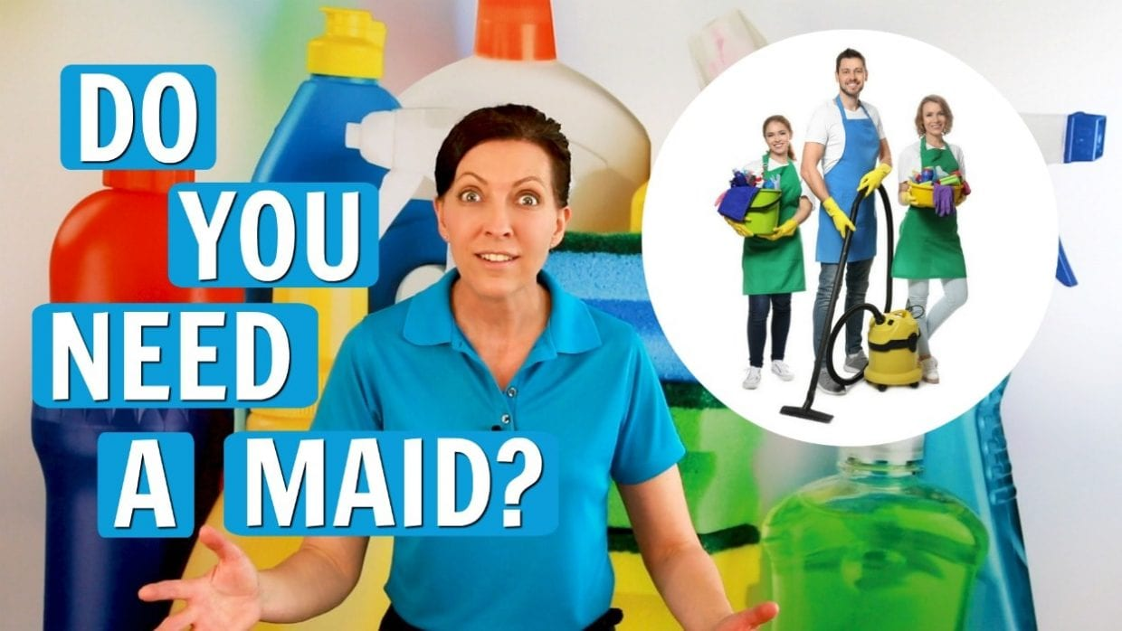 Ask a House Cleaner, Do You Need a Housekeeper, Savvy Cleaner