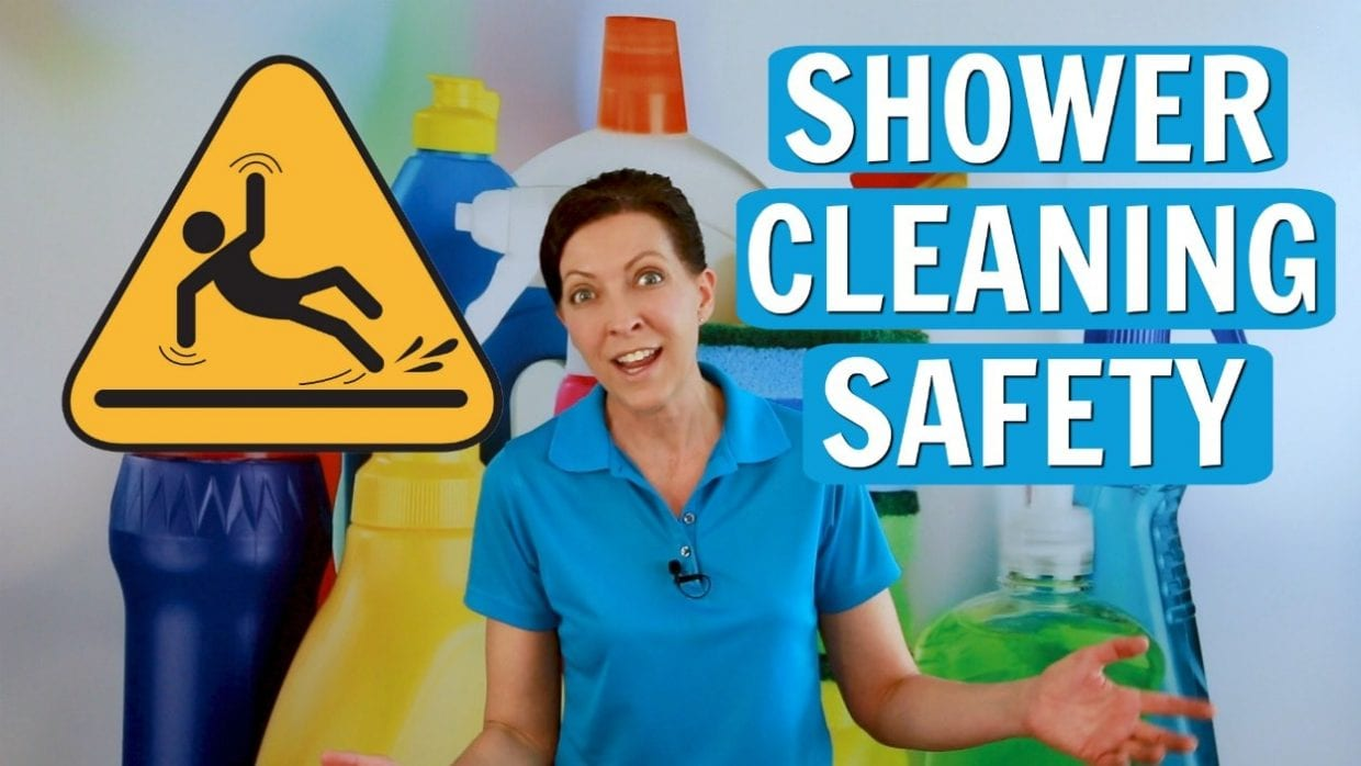 Ask a House Cleaner, Shower Cleaning Safety, Savvy Cleaning