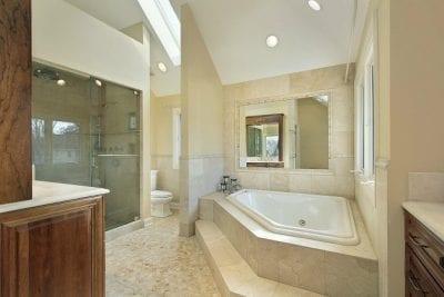 Shower Cleaning Safety Big Bath Tub