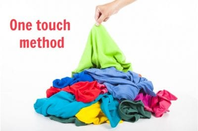 Household Cleaning Hacks, One Touch Method