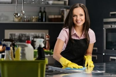 Employees Disrespect You, Woman Cleaning Counter