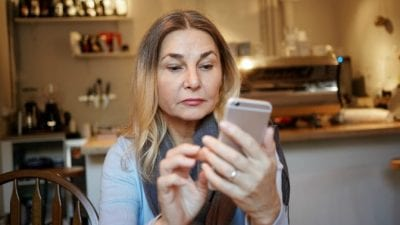 Fire the Maid by Text mature woman sending text