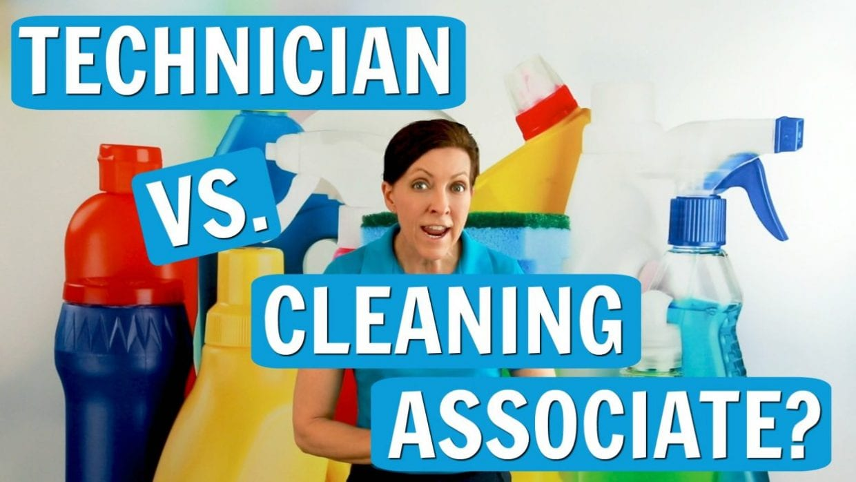 Technician vs. Cleaning Associate