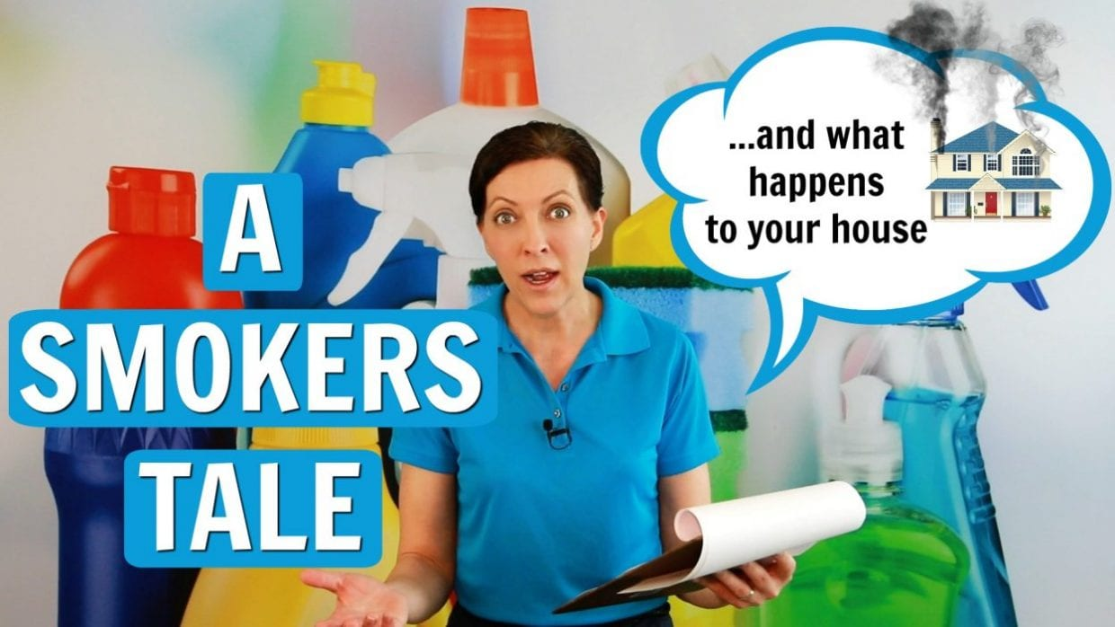 Ask a House Cleaner, A Smokers Tale, Savvy Cleaner