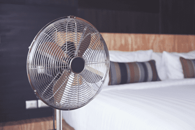 Angela Brown's Top 10 Holiday Cleaning Tips, Bedroom Fan