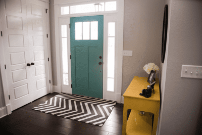 Angela Brown's Top 10 Holiday Cleaning Tips, Front Entryway