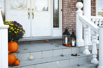 Angela Brown's Top 10 Holiday Cleaning Tips, Front Porch