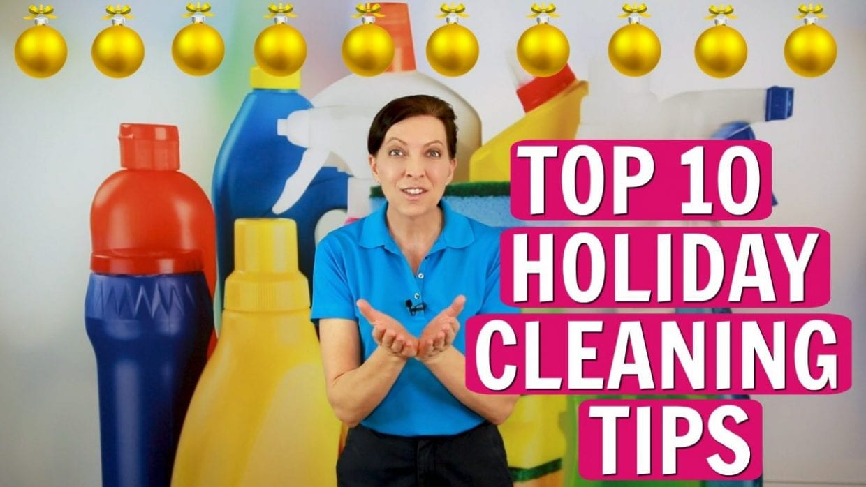 Ask a House Cleaner, Angela Brown's Top 10 Holiday Cleaning Tips, Savvy Cleaner