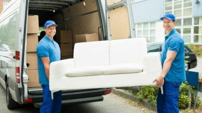 Rebuild Your Cleaning Business movers carrying furniture