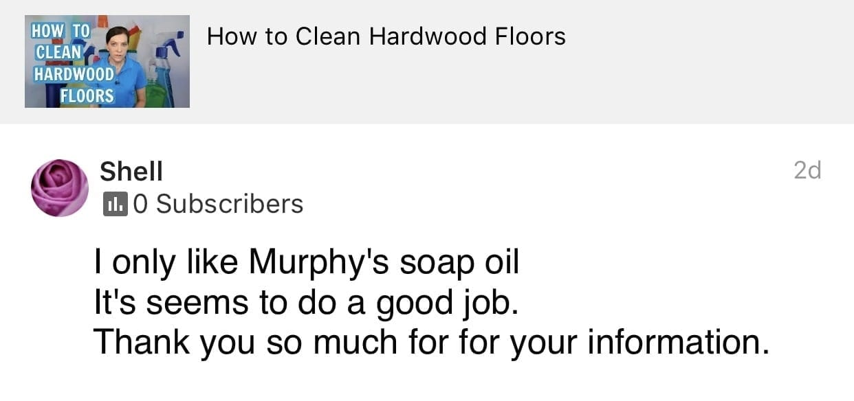 Good job, Ask a House Cleaner Testimonial