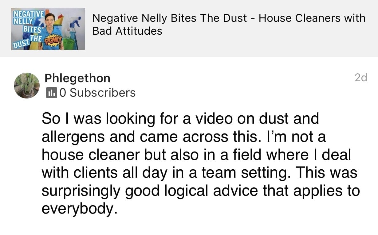 Logical, Ask a House Cleaner Testimonial