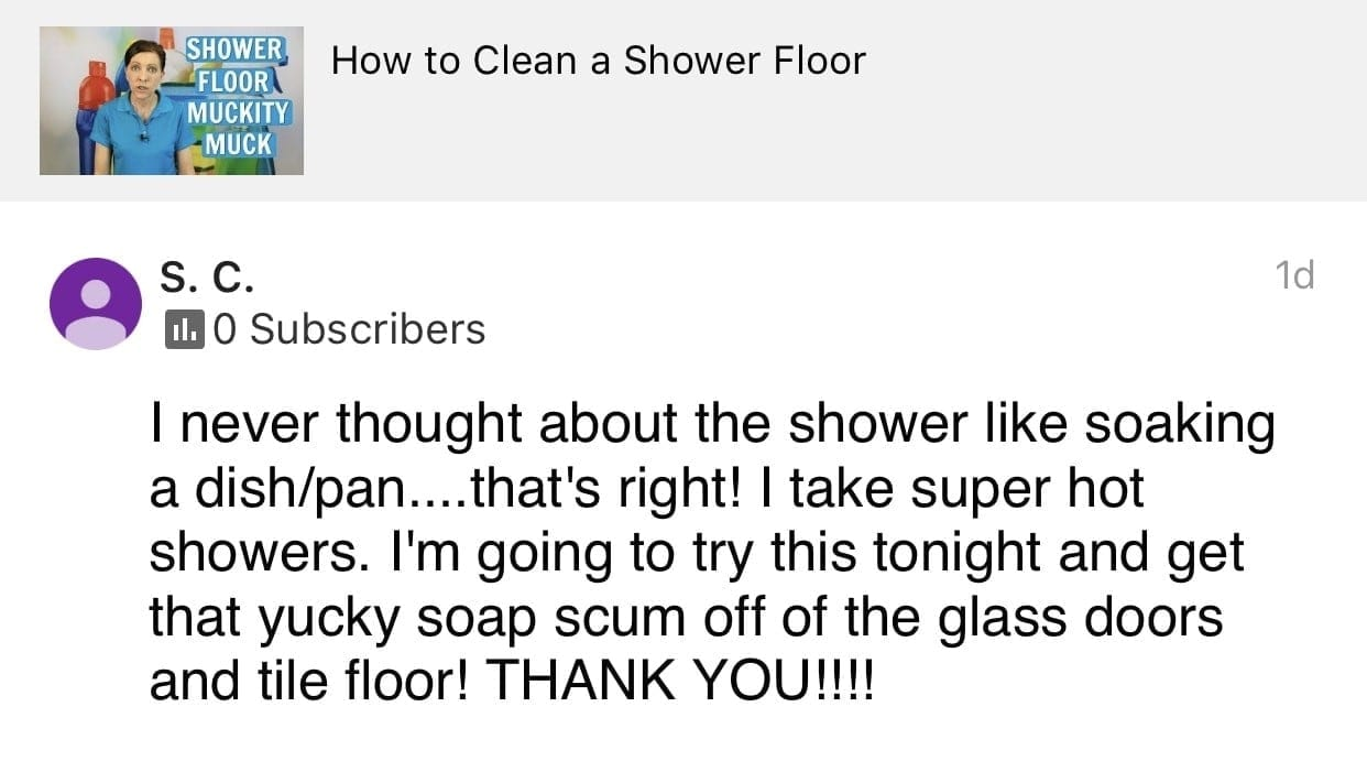 Thank you_2, Ask a House Cleaner Testimonial