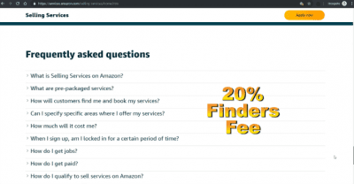 Amazon Home Services to Grow My Cleaning Company, Amazon Home Services Finders Fee