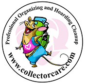 Collector Care Logo, Savvy Cleaner Correspondent
