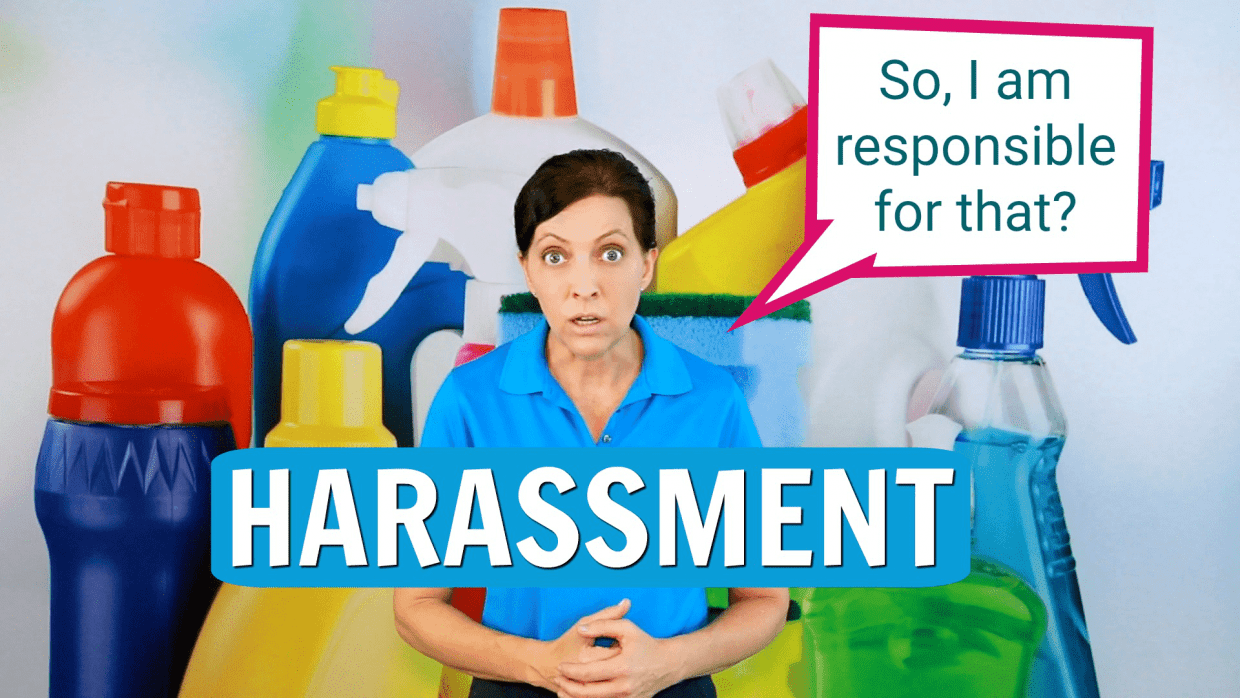 Harassment, Savvy Cleaner, featured image
