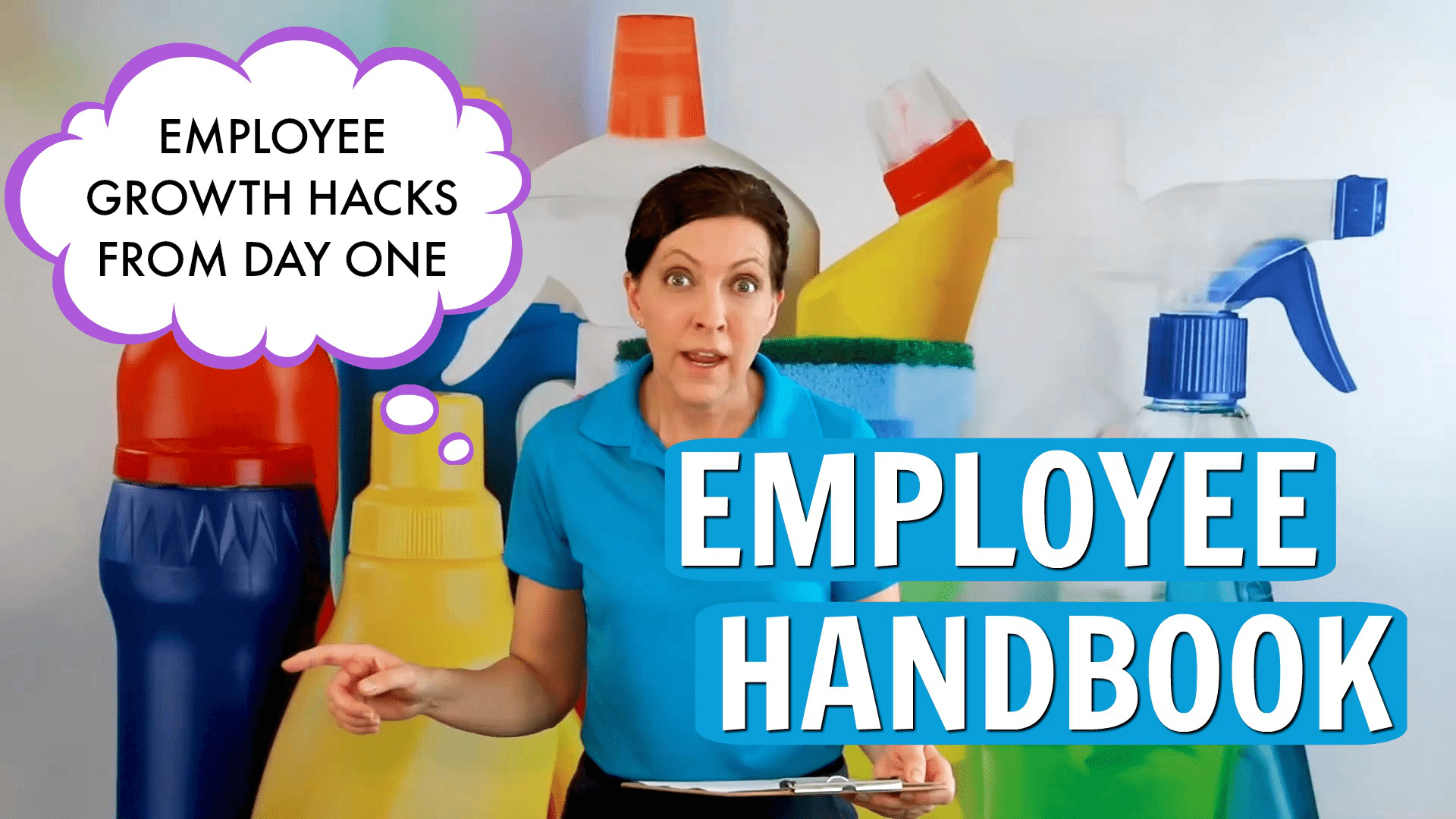 Employee Handbook, Savvy Cleaner, featured image