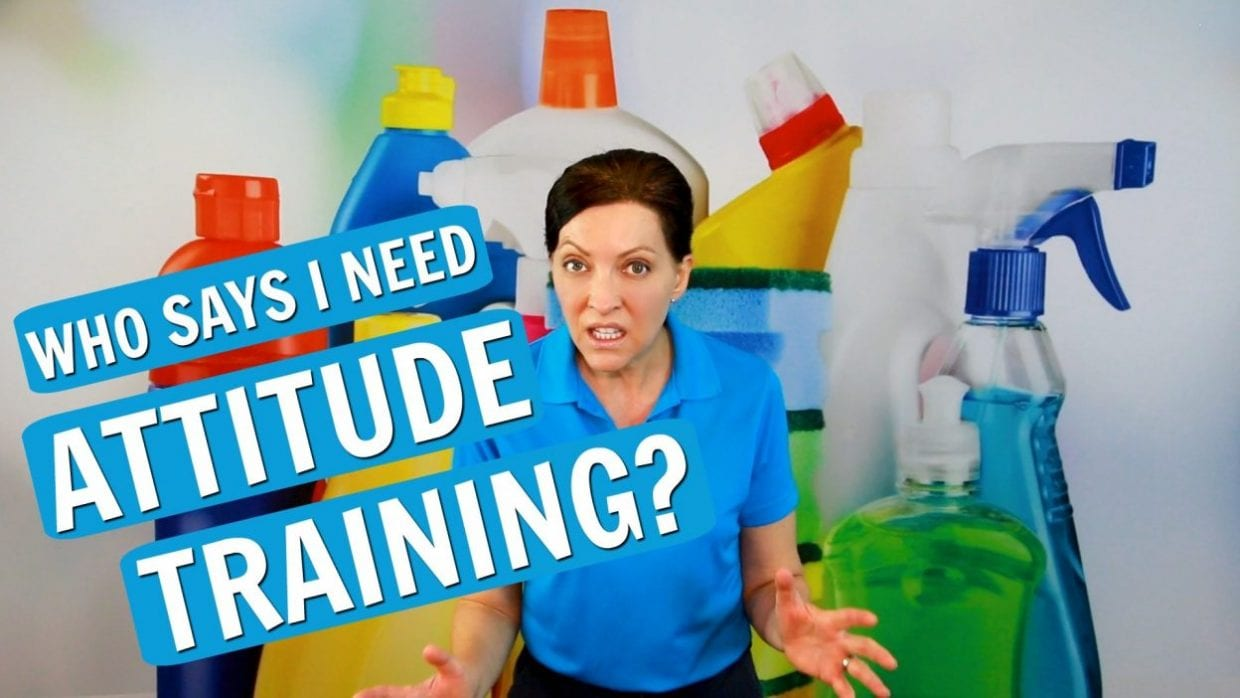 Attitude Training - Savvy Cleaner - Featured