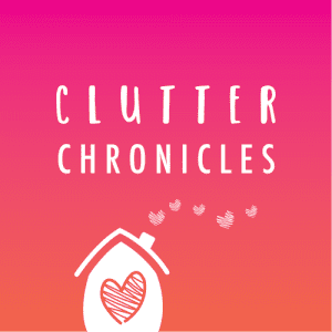 Clutter Chronicles Podcast Logo