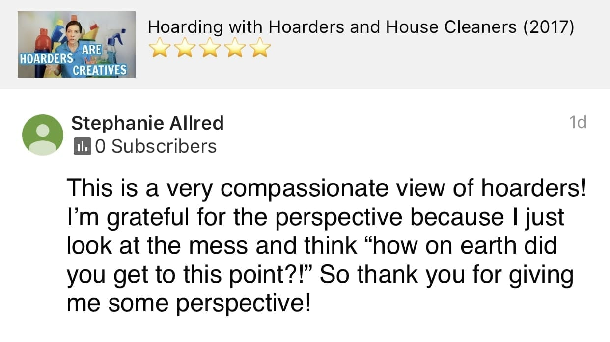 Compassionate, Ask a House Cleaner Testimonial
