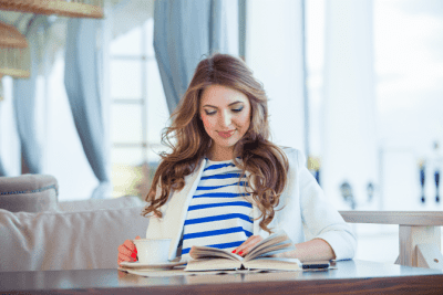 Create My Own Franchise, Woman Reading Book